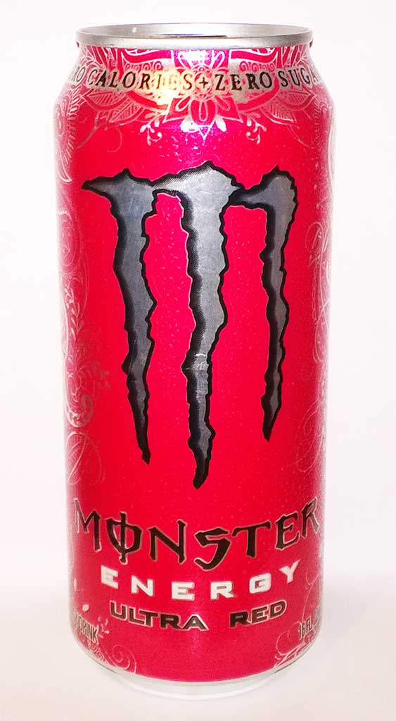 Monster Rojo Energy Drink